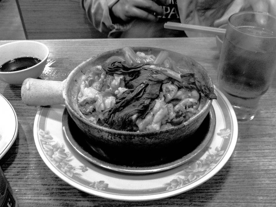 Frog's leg casserole dish - Hong Kong 2013