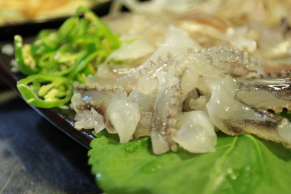 Cuttlefish Dish - Seoul 2013
