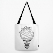 Vintage Hot Air Balloon - Natural Born Vagabond™