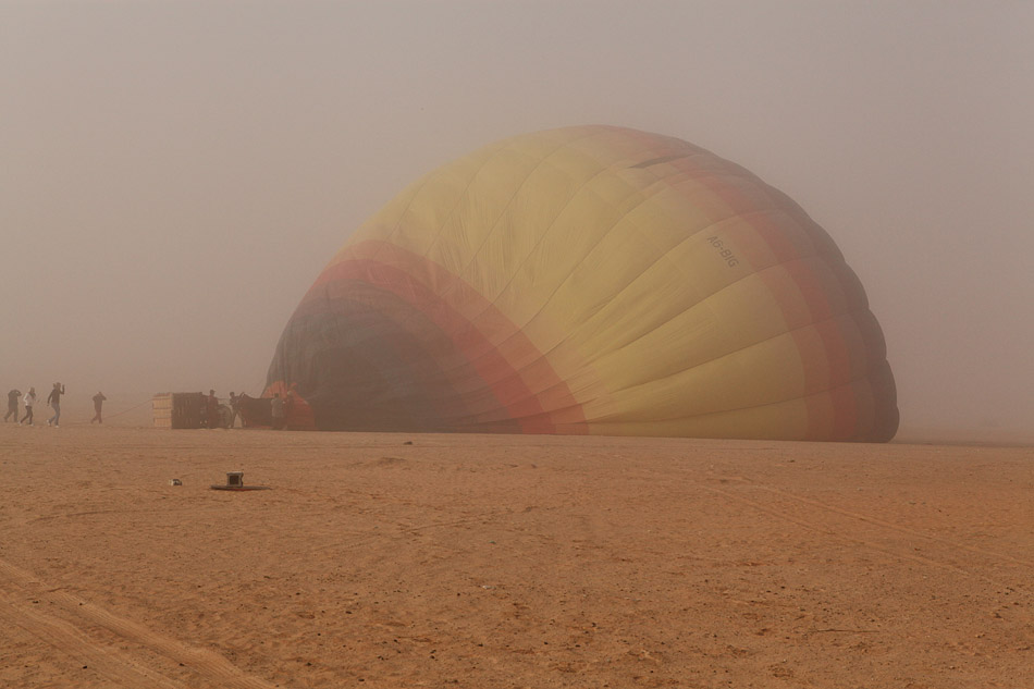 Hot Air Ballooning over the UAE dessert
