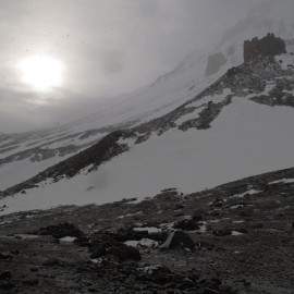 Kazbek base-camp 3650 m.n.p.m.
