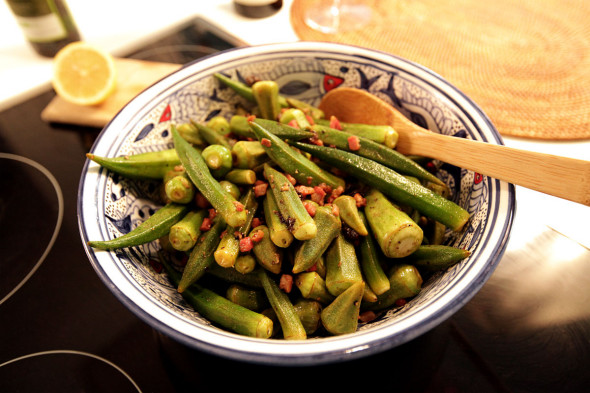 Okra - lady fingers recipe
