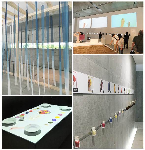 "21_21 DESIGN SIGHT Exhibition ""COLOR-HUNTING"" directed by Dai Fujiwara."
