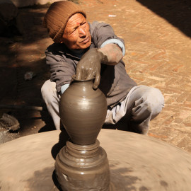 Ceramics and potterymaking in Bhaktapur, Nepal
