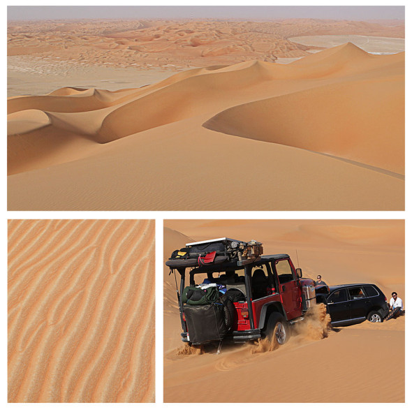 Liwa, UAE desert off-roading