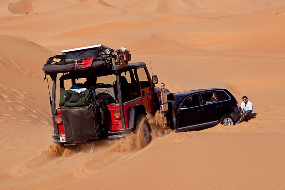Offroading in the UAE