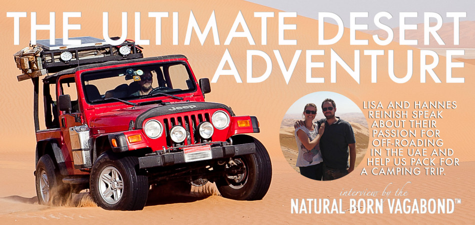 The ultimate desert adventure - Lisa and Hannes
