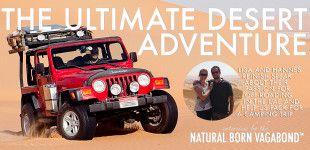 The ultimate desert adventure - Lisa and Hannes