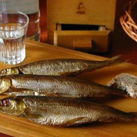 Smoked fish -- Photo by Krystyna Durtan