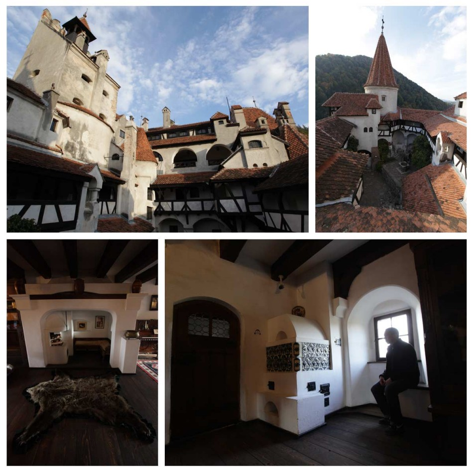 "Bran Castle -- a.k.a. ""Dracula's Castle"". (Bran)"