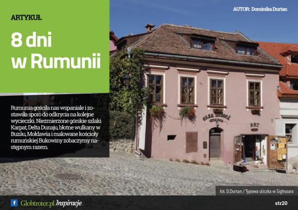 Globtroter Inspiracje 8 dni w Rumunii