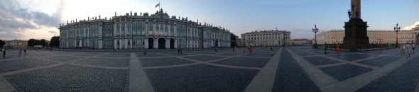Hermitage Museum - Palace Square - St-Petersburg Russia
