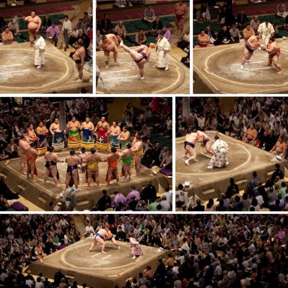 Grand Sumo Tournament-2016 -- Ryōgoku-Kokugikan, Tokyo, Japan