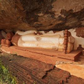 Lying Buddha in Sigiriya