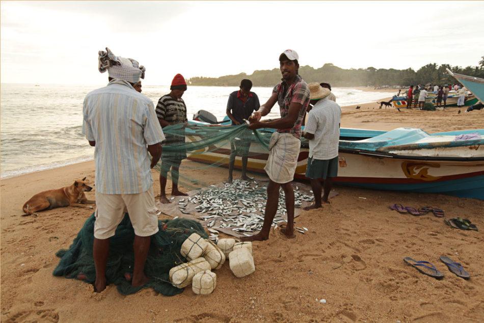 Fishermen at Arugam Bay