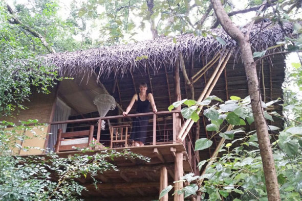 Boulder house -- Lovely Sri Lankan jungle accommodation.