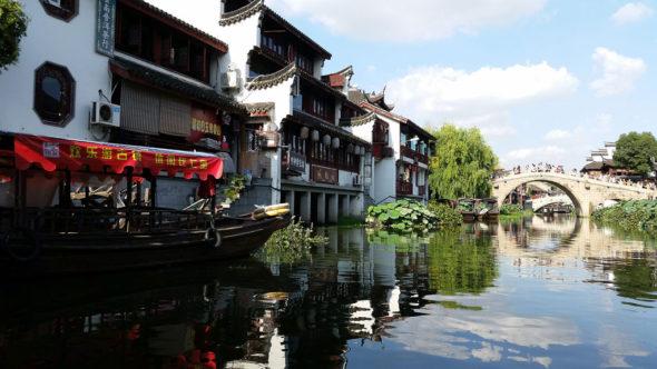 Qibao - zabytkowe miasteczko siedmiu cudów.