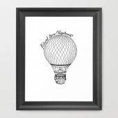 Vintage Hot Air Balloon - Natural Born Vagabond™