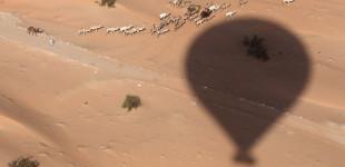 Hot Air Ballooning over the UAE dessert