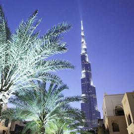 """Burj Khalifa - widok ze """"Starego Miasta"""""""