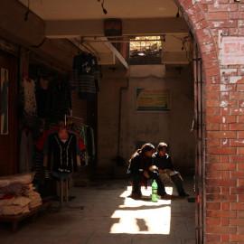 Residents of Bhaktapur, Nepal