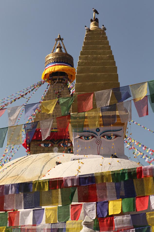 Big Stupa in Kathmandu, Nepal