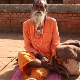 Tantric Yogin in Kathmandu, Nepal