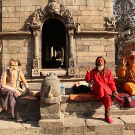 Tantric Yogins in Kathmandu, Nepal