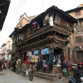 Streets of Kathmandu, Nepal
