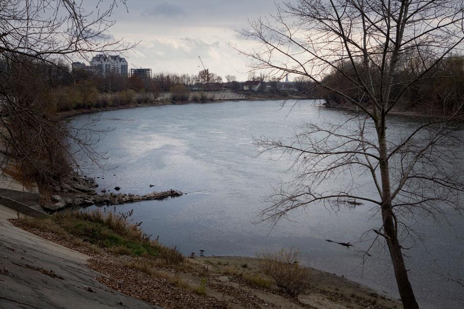 Widok na Dniestr