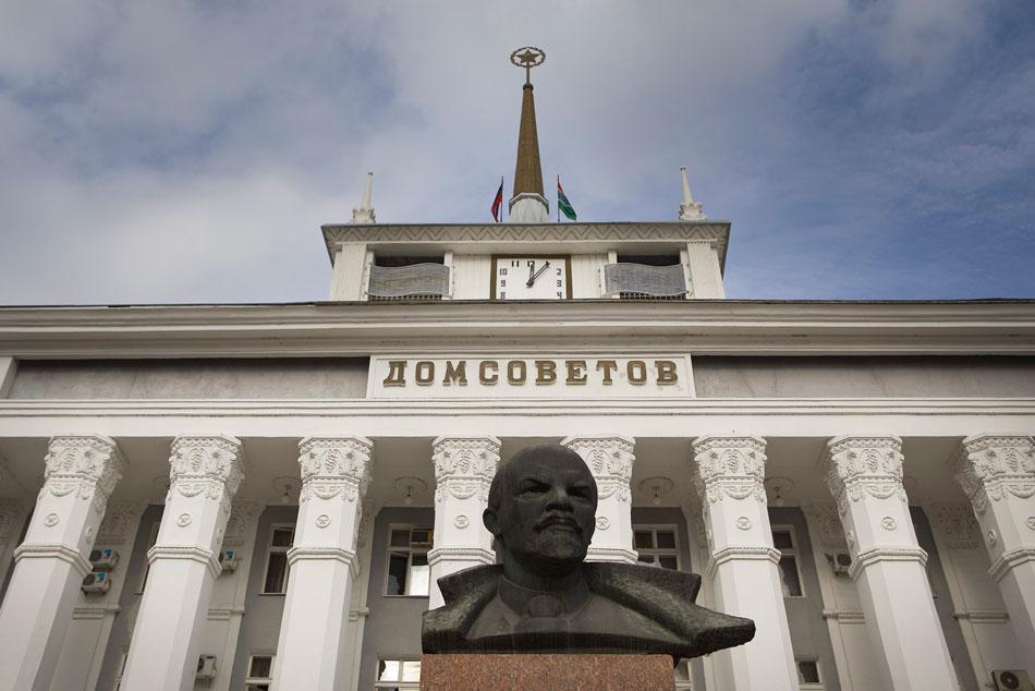 Lenin brązowy